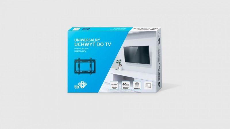 """Uchwyt TV do telewizora do 42"""" 40kg max VESA 200x200 zdjęcie 2"""
