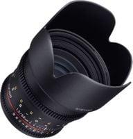 Samyang 50mm T1.5 VDSLR Obiektyw mocowanie Nikon F