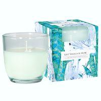 BISPOL AURA Premium Line Wanilia i piżmo - świeczka zapachowa w szkle
