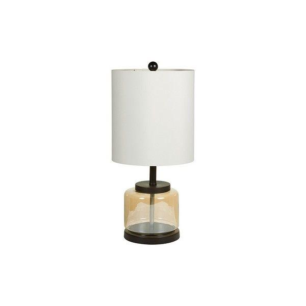 Lampa stołowa Transparent (30 x 63 x 30 cm) zdjęcie 1