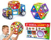 Klocki magnetyczne MAGICAL MAGNET NO.702 40 elementów Y44