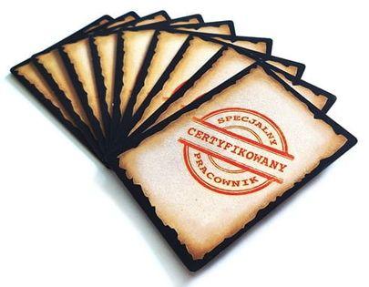 VITICULTURE TOSKANIA : PROMOCYJNE KARTY PRACOWNIKÓW (DODATEK) GRA PLANSZOWA PHALANX