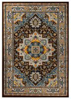 Dywan Royal Blue 160x230 Classic Collection ornament kwiaty premium