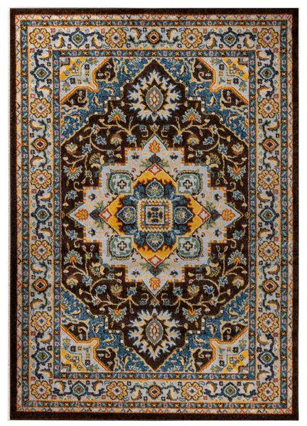 7e7a9c45c94ff0 Dywan Royal Blue 80x150 Classic Collection modny klasyczny ornament zdjęcie  1
