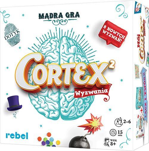 Cortex 2 Wyzwania PL Mądra Gra Rebel zdjęcie 1