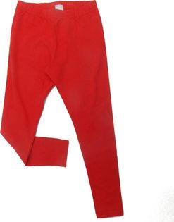 GARDA Legginsy 140 cm, 9-10 l. Długie Czerwone 9-10 lat