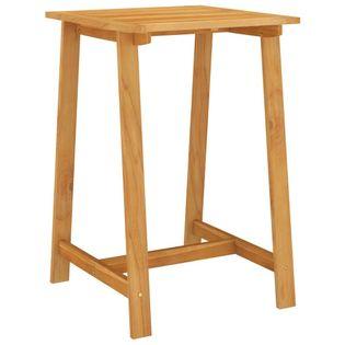 Lumarko Ogrodowy stolik barowy, 70x70x104 cm, lite drewno akacjowe