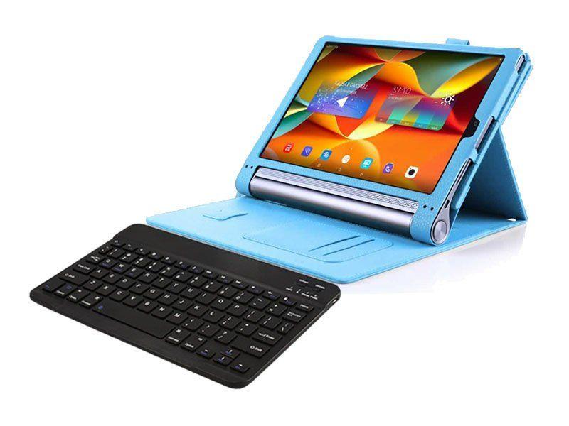 """Etui skórzane Lenovo Yoga Tab 3 Pro 10"""" X90 Niebieski + Klawiatura zdjęcie 1"""
