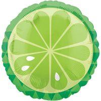 BALON foliowy LIMONKA limonki zielona OWOC owoce