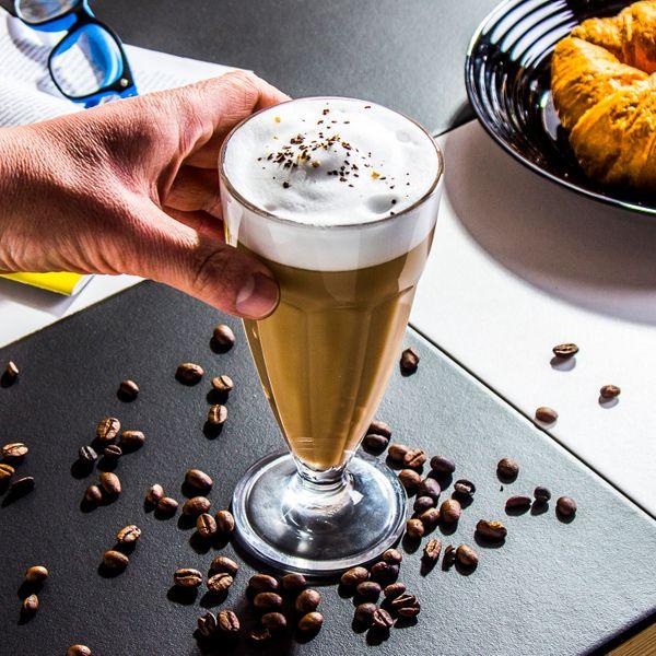 SZKLANKA do napojów kawy LATTE wysoka 380 ml zdjęcie 3