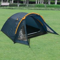Namiot 3-osobowy niebieski VidaXL