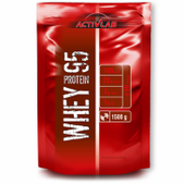 Activlab Whey Protein 95 - 1500g  Smak - Banan