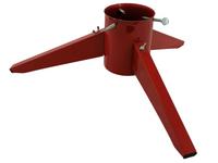 TUCHMET Stojak pod choinkę składany 3-nożny MALWA FI 130 z pojemnikiem na wodę -  czerwony