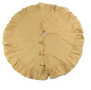 Osłona na doniczkę/stojak z naturalnej juty #1