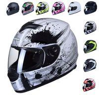 KASK MOTOCYKLOWY ZAMKNIĘTY INTEGRALNY 10 kolorów SKUTER MOTOCYKL NOWY zdjęcie 6