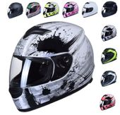 KASK MOTOCYKLOWY ZAMKNIĘTY INTEGRALNY 10 kolorów SKUTER MOTOCYKL NOWY
