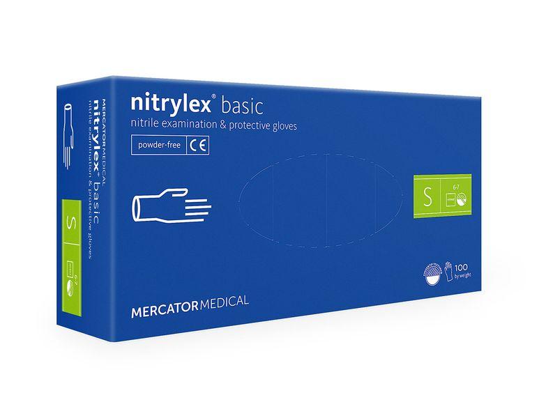 Rękawice nitrylowe nitrylex basic S 100 szt na Arena.pl