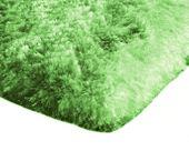 Mięciutki wysoki dywan pluszowy 140x200 zielony