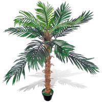 Sztuczna palma z donicą 140 cm