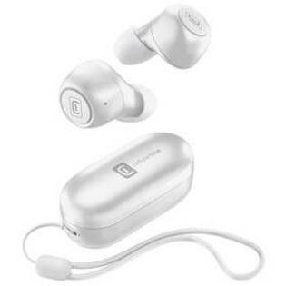 Słuchawki CellularLine Pick (BTPICKTWSW) Biała