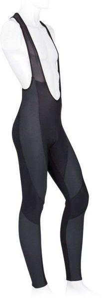 Spodnie ocieplane z szelkami THERMO Thermoroubaix czarne - r. XL zdjęcie 1