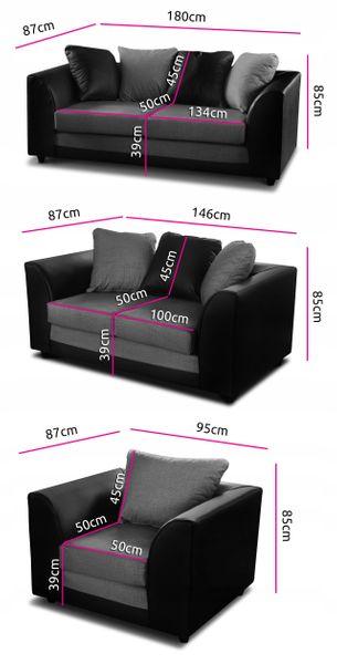 FOTEL GRAND - Sofa kanapa do salonu RÓŻNE KOLORY zdjęcie 6