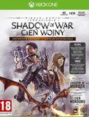 Cenega Gra Xbox One Śródziemie Cień Wojny Definitive edition