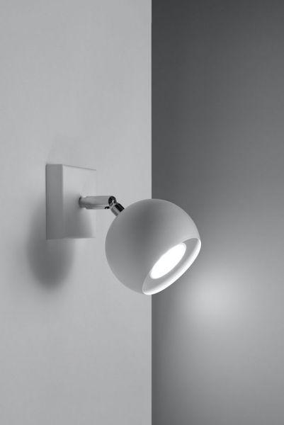 Kinkiet OCULARE Biały lampa domowa nowoczesna kuchnia salon jadalnia zdjęcie 3