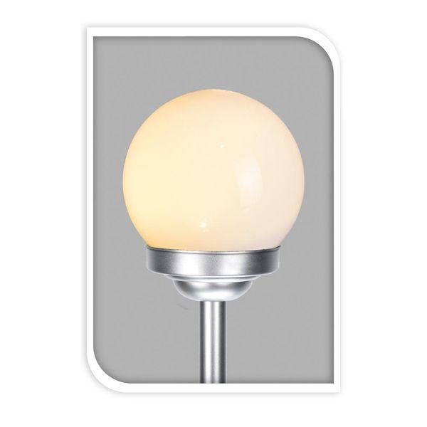 Lampa solarna LED ogrodowa KULA 10cm ekologiczna zdjęcie 2