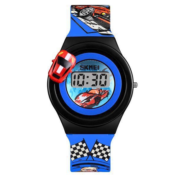 50de4696687383 Dziecięcy zegarek 5 kolorów AUTO elektroniczny na pasku super prezent  zdjęcie 1