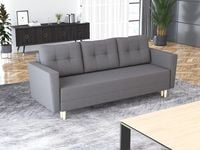 Kanapa sofa rozkładana OSLO na nóżkach