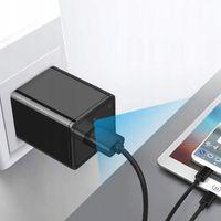 ZASILACZ ŁADOWARKA SIECIOWA USB Z KAMERĄ 1080P