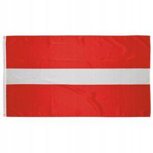 Flaga na maszt 90 x 150 cm Łotwa