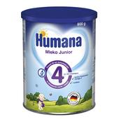 Humana 4 Mleko modyfikowane Junior po 24 miesiącu 800g PUSZKA