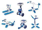 Roboty solarne 6w1 - Solar Kit - wiatrak, helikopter, auto, robot zdjęcie 1