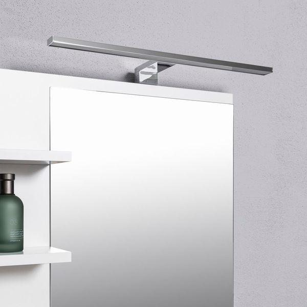 Biała szafka z lustrem do łazienki lewa, z 3 półkami, nowa zdjęcie 7