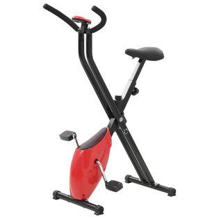 Rowerek Do Ćwiczeń X-Bike, Pasek Oporowy, Czerwony