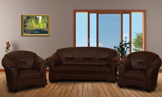 Komplet wypoczynkowe ALEX 3+1+1 - zestaw wypoczynkowy Sofa + 2 fotele