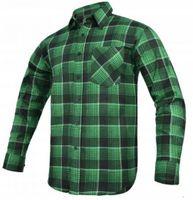 Koszula flanelowa MODAR zielona R-44