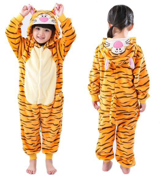 TYGRYSEK Piżama Dla Dziecka Kigurumi140-150 cm zdjęcie 1