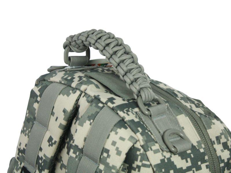 Dwukomorowy plecak szkolny St.Right 30 L, Military Moro BP36 zdjęcie 7
