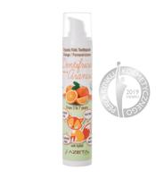 Pasta do zębów bez fluoru z ksylitolem i aloesem dla dzieci 3-7 lat pomarańczowa 50 ml, Azeta Bio