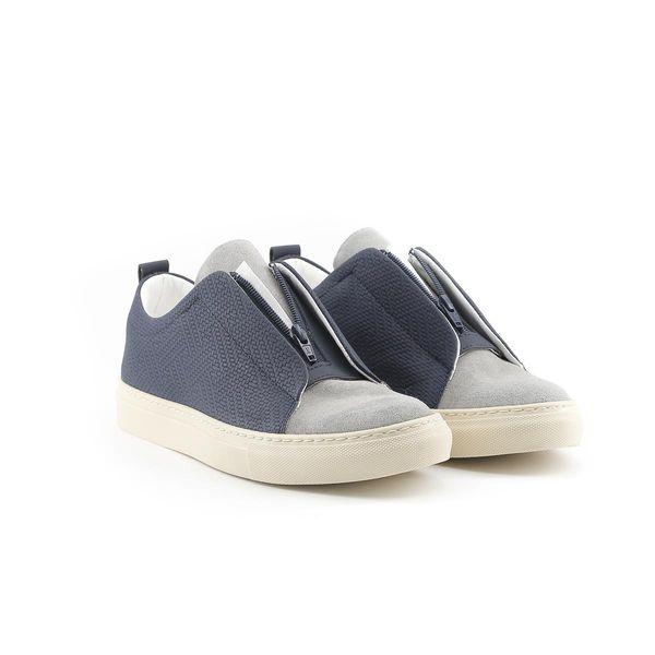 Made in Italia sportowe buty męskie sneakersy niebieski 45 zdjęcie 10
