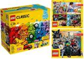 LEGO CLASSIC 10715 KLOCKI NA KÓŁKACH + 2 KATALOGI