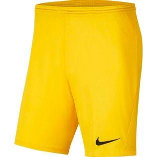 Spodenki dla dzieci Nike Dry Park III NB K żółte BV6865 719