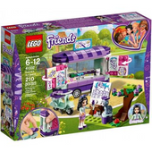 Klocki LEGO 41332 Friends Stoisko z Rysunkami Emmy