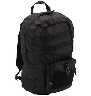 Plecak składany czarny