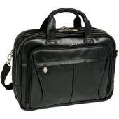 Męska torba na laptopa pearson skóra czarna