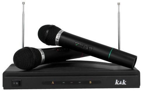 Zestaw do karaoke 2x Mikrofon bezprzewodowy + Stacja G193