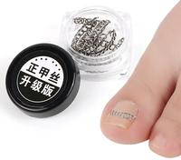 Klamra na wrastające paznokcie zestaw korekcyjny